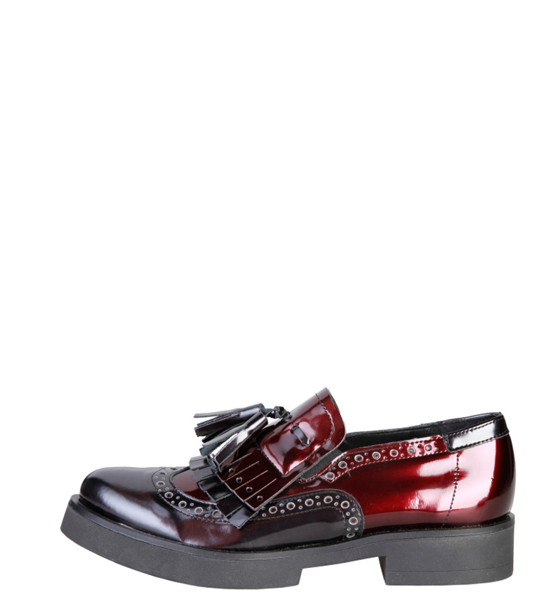 Comprar Ana Lublin Anette black, burgundy moccasins