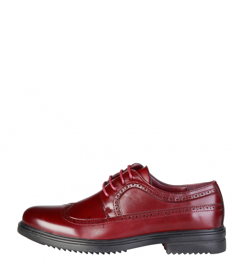 Di Duca Richard Burdeos Morrone Zapatos nNwv80Om