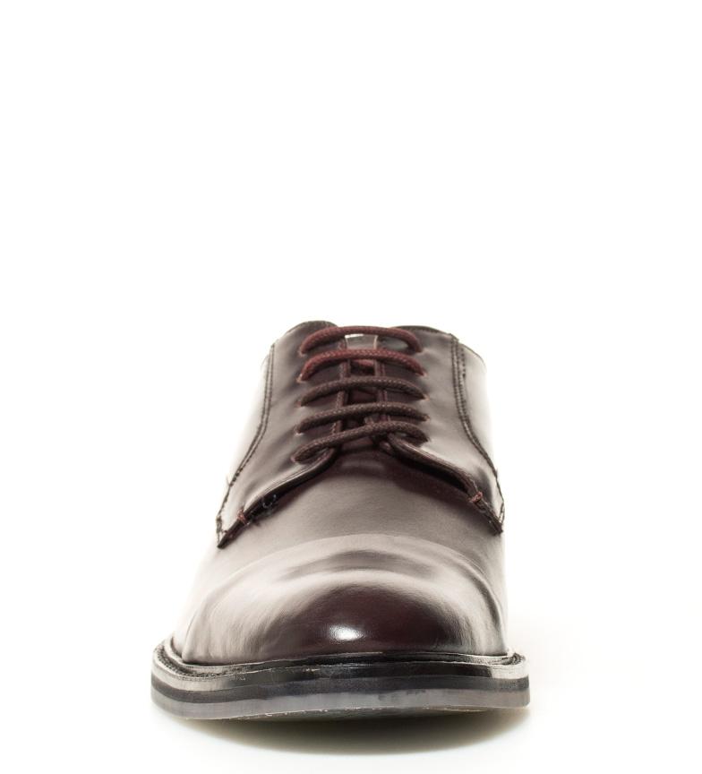 Aokii Baker Piel Ted Zapatos Marrn De 8kwnOXNP0Z