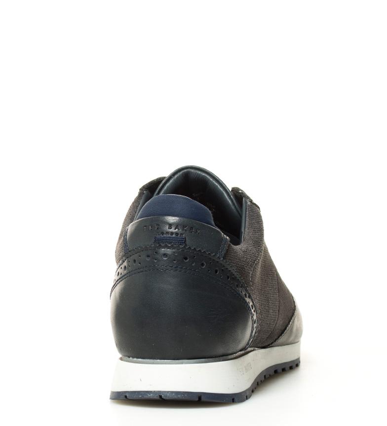 Ted Baker Zapatillas de piel Shindl gris