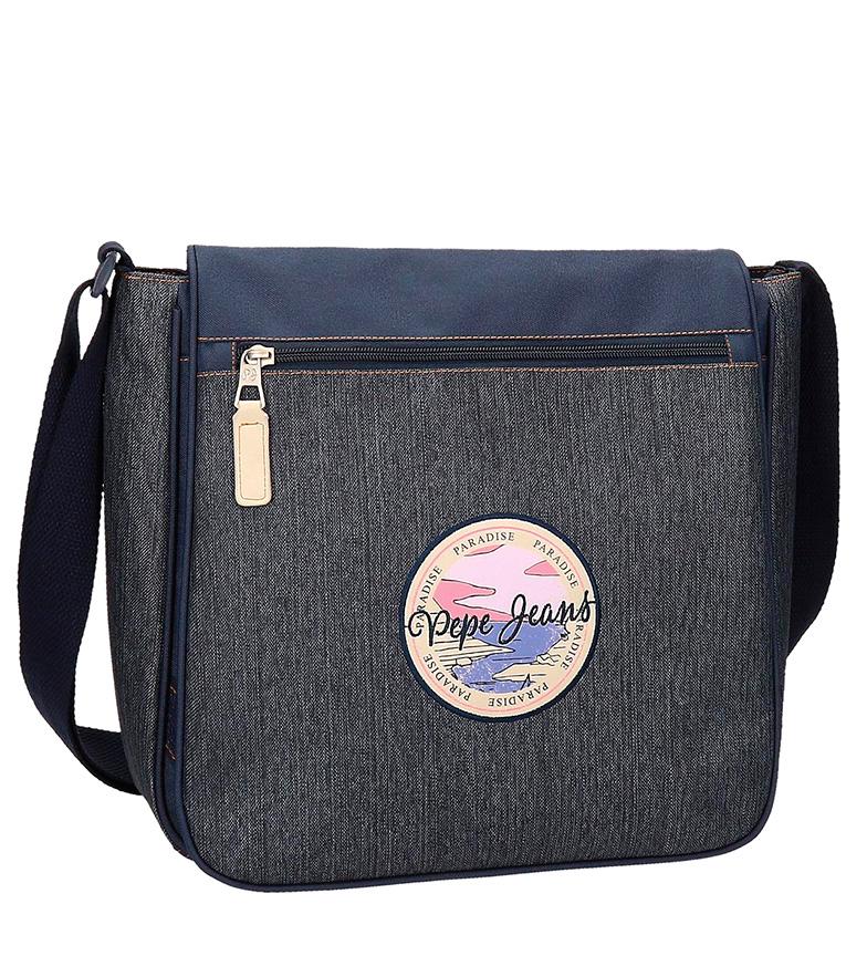 Comprar Pepe Jeans Yelena borsa a tracolla portatile denim blu-32x30x10 cm-