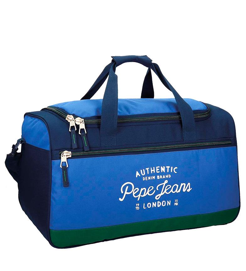 Comprar Pepe Jeans Kepel borsa blu, verde-29x52x29 cm-