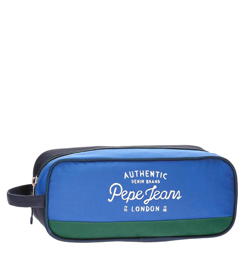 Comprar Pepe Jeans Zapatillero Kepel blue, green-14x34x15 cm-