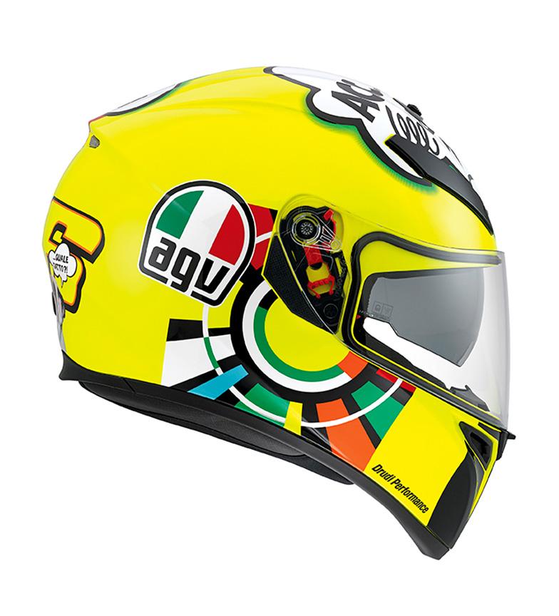 Agv-Casco-integral-K-3-SV-blanco-Negro-Amarillo-Multicolor-Azul-Verde-Gris