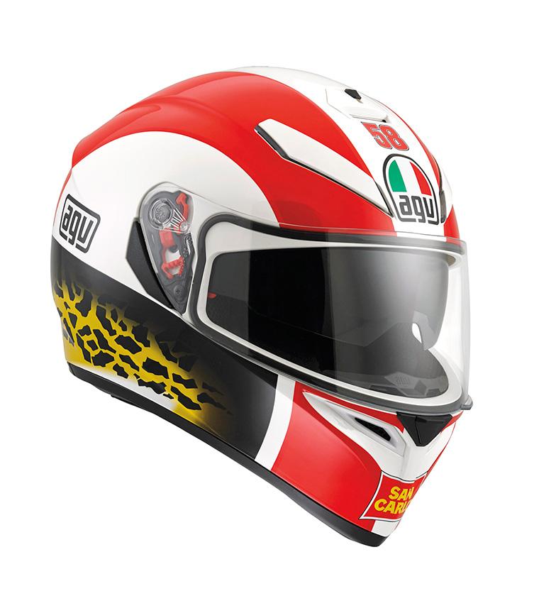 Comprar Agv Integral helmet K-3 SV simoncelli pinlock