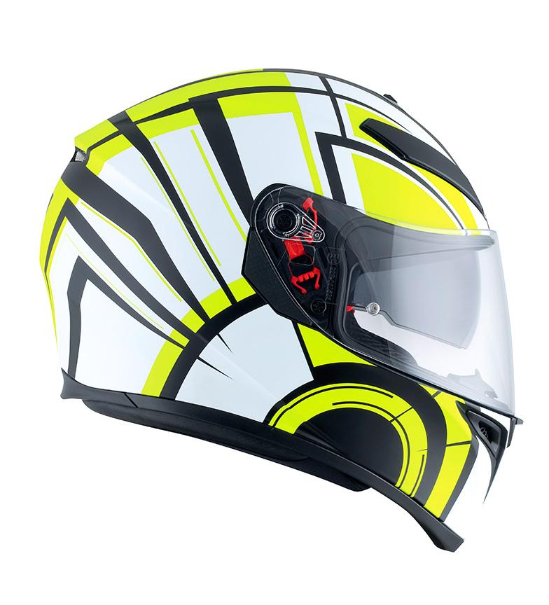 Comprar Agv Integral helmet K-3 SV avior white matt / lime