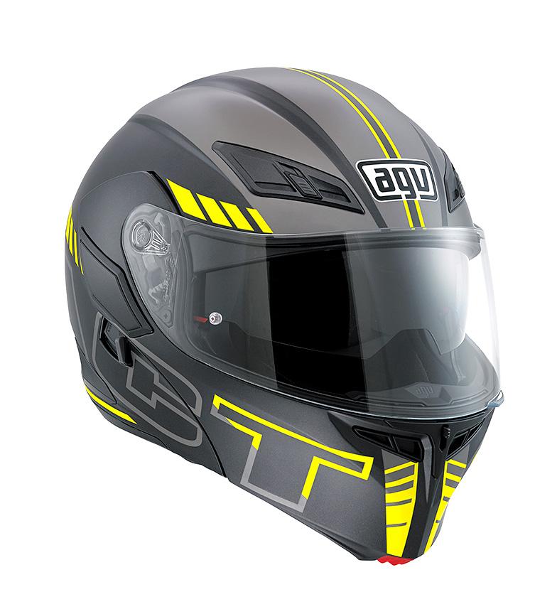 Comprar Agv Modular helmet Compact ST seattle pinlock matt black / silver / yellow