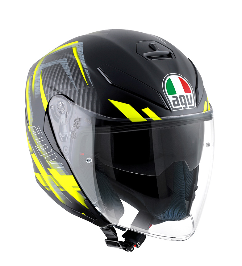 Comprar Agv Helmet K-5 Jet urban hunter matt black / yellow