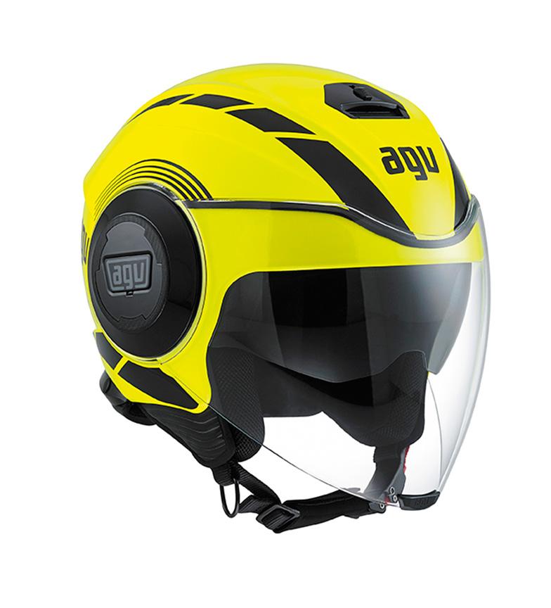 Comprar Agv Casco jet Equalizzatore fluido giallo fluor / nero