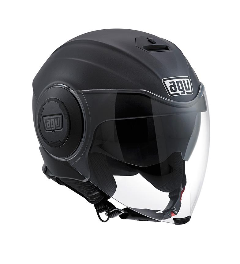 Comprar Agv Casco jet Fluid negro mate - tu tienda online de Moto af6b8df147b