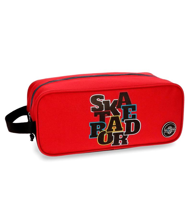 Movom Neceser Skate cm-15x34x14 vermelho