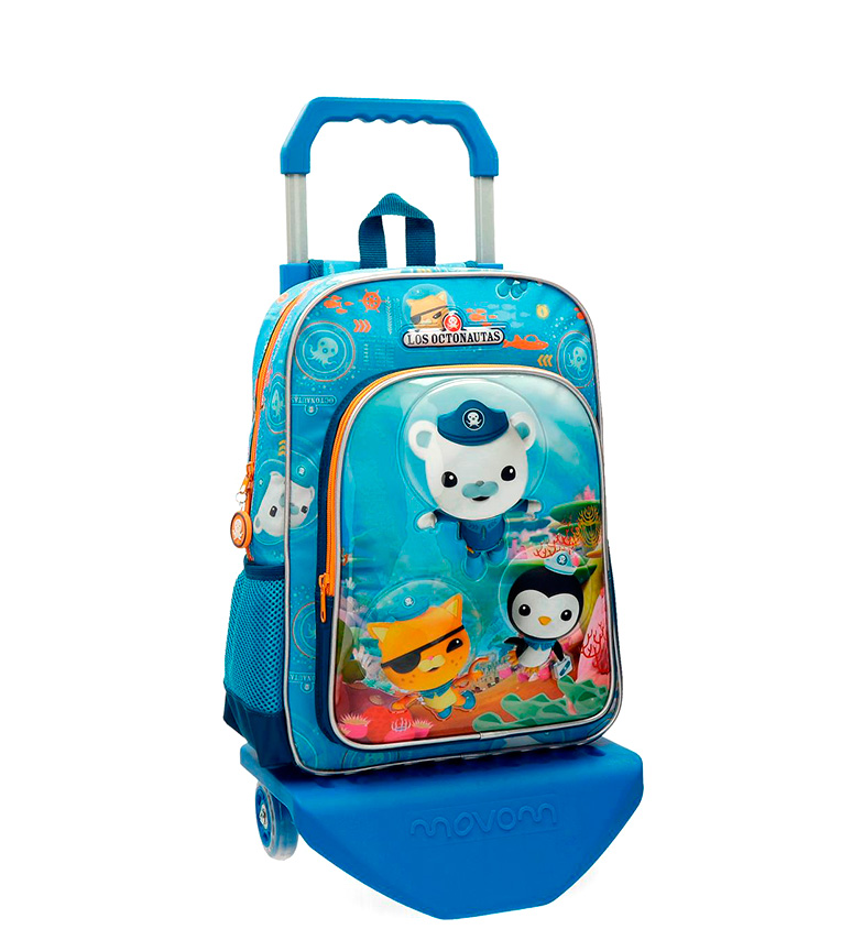 Comprar Disney & Friends Backpack with cart The Octonautas blue-29x38x12 cm-