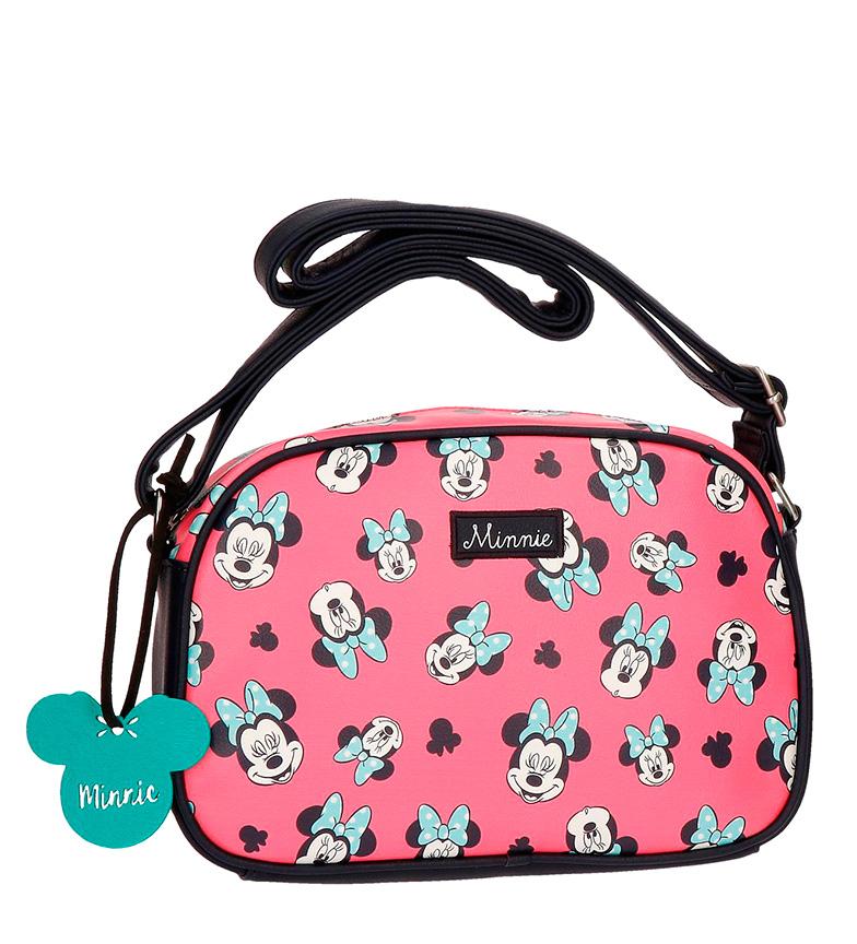 Comprar Minnie Bandolera Minnie Wink rosa-26x22x10 cm-