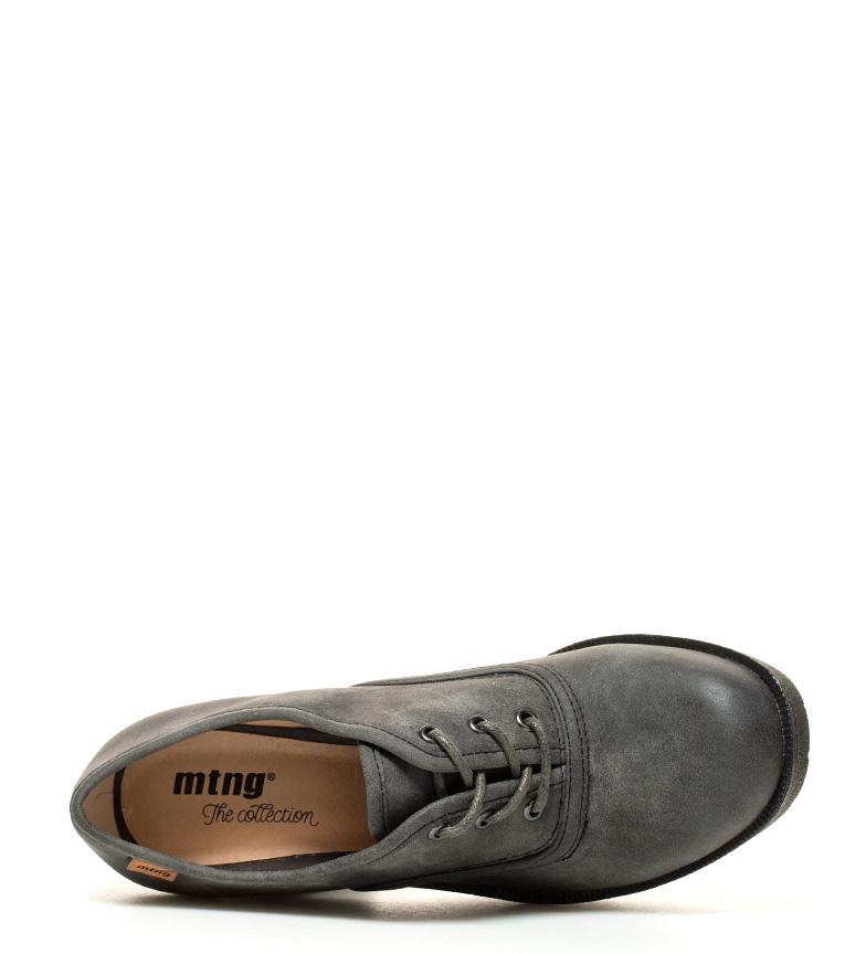 Zapatos gris 9 tacón br Clyde Mustang br Altura 5cm plataforma dEW8Wq