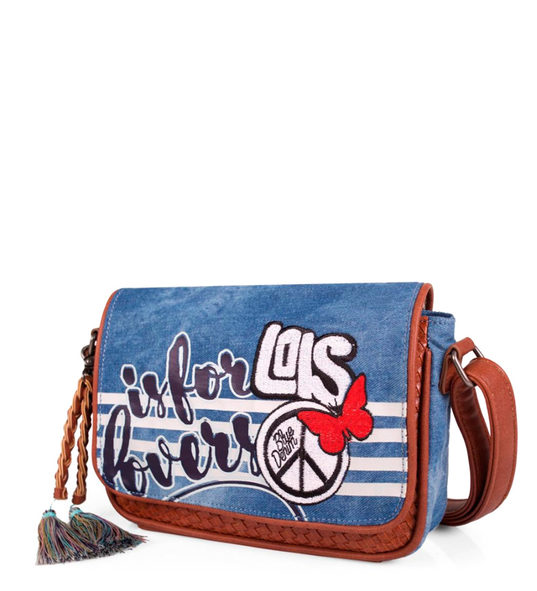 Comprar Lois Amants sac bleu -21x14x5cm-