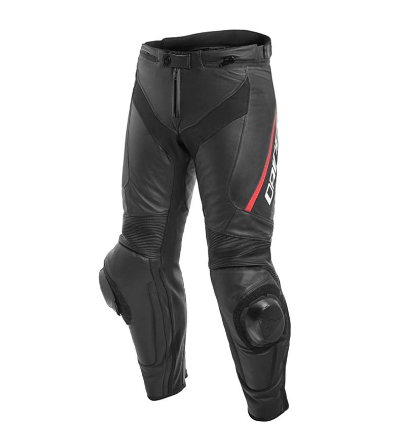 Comprar Dainese Delta 3 leather pants black, red