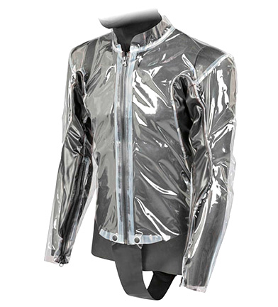 Comprar Dainese Body Rain Racing D1 noir, transparent
