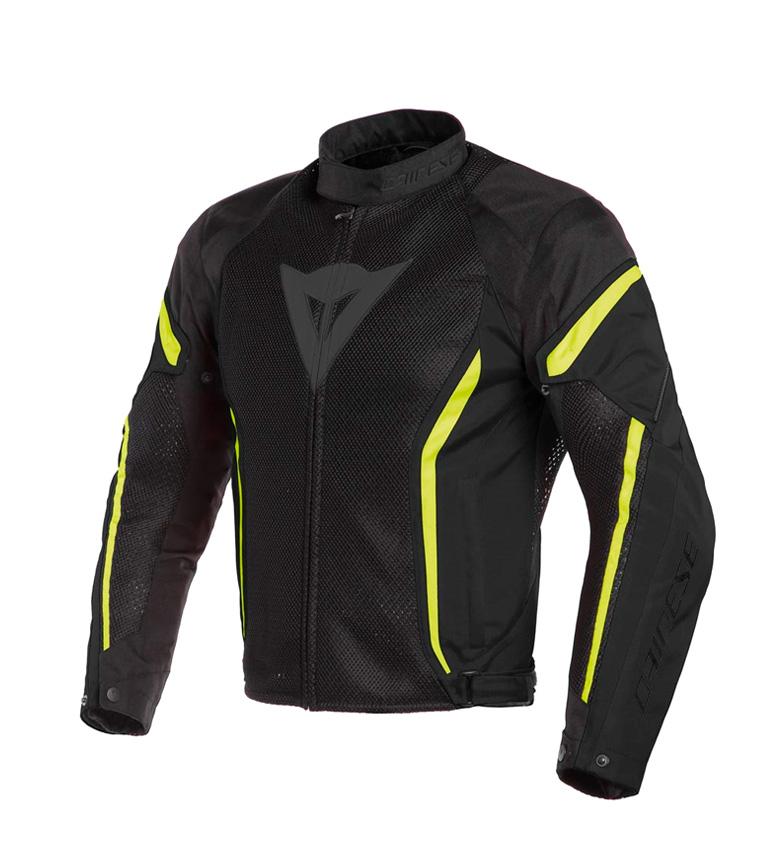 Comprar Dainese Air Crono 2 jaqueta preta, flúor