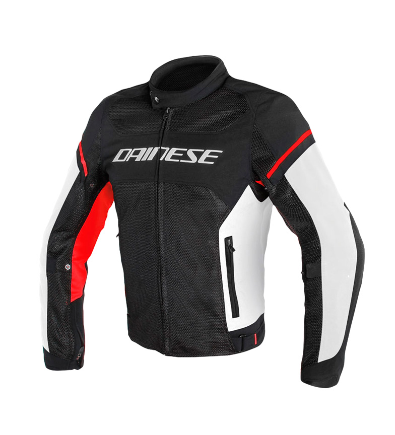 Comprar Dainese Air Frame S1 Tex jacket black, white, red