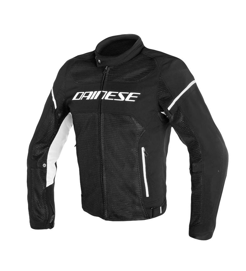 Comprar Dainese Air Frame S1 Tex jaqueta preta, branca