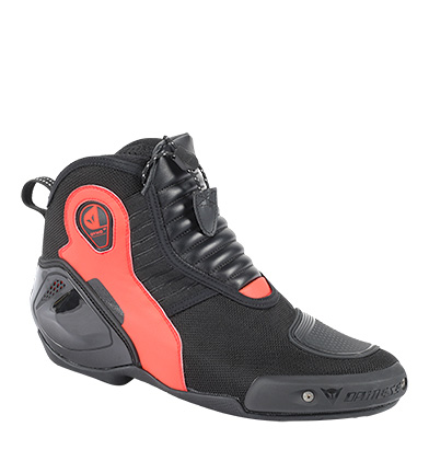 Comprar Dainese Dyno PRO D1 black leather boots, red
