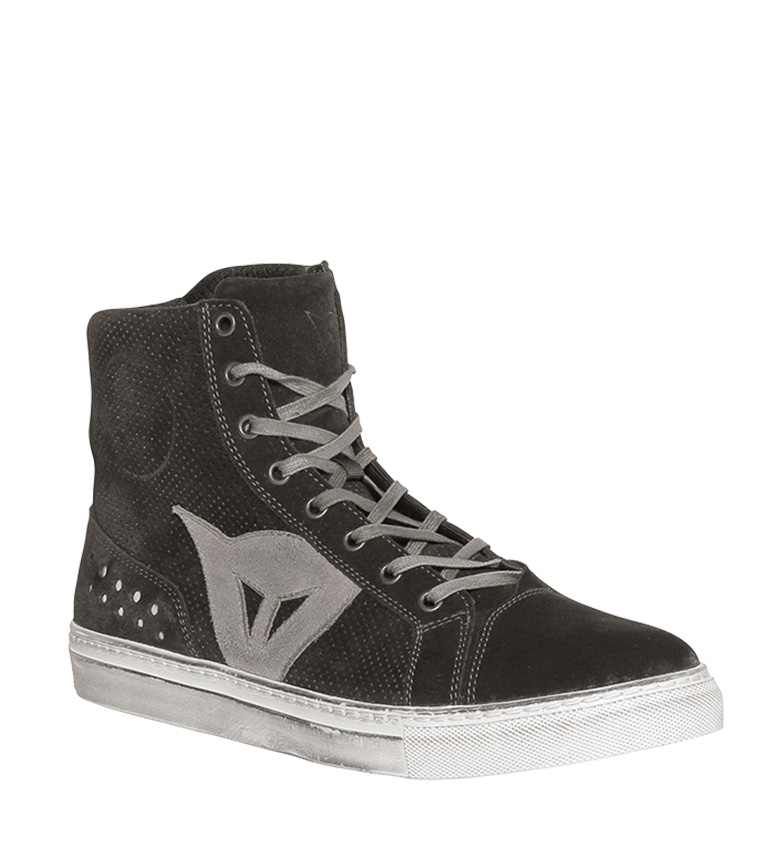 Comprar Dainese Street Biker Air Black, Gray leather boot shoes