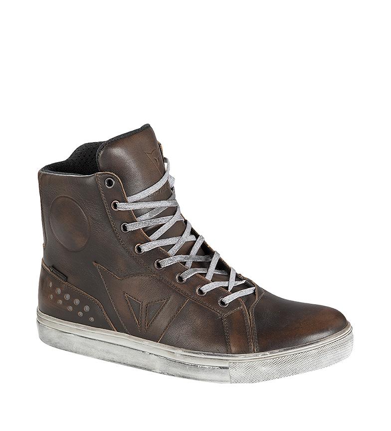 Comprar Dainese Botas de piel Street Rocker D-WP marrón oscuro