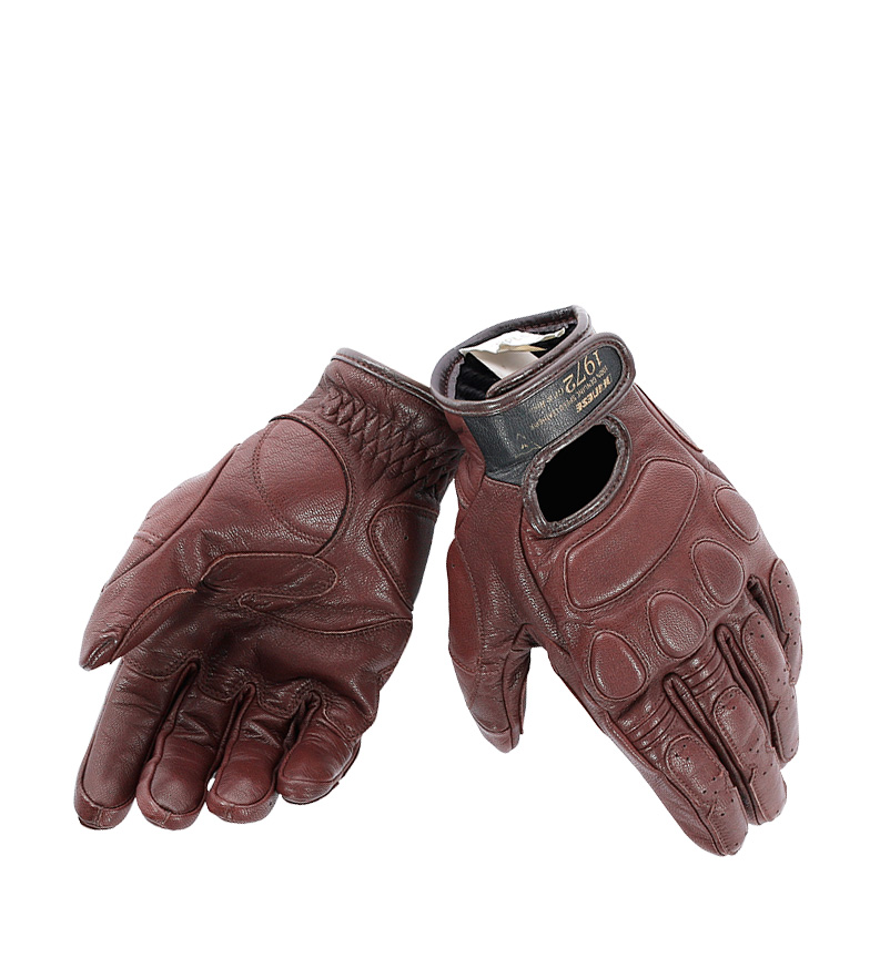 Comprar Dainese Gants en cuir BlackJack marron