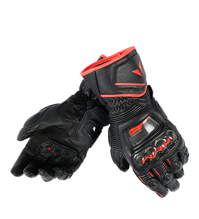 Comprar Dainese Leather gloves Druid D1 Long black, red