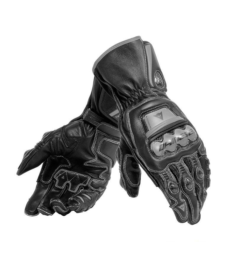 Comprar Dainese Full Metal 6 black leather gloves