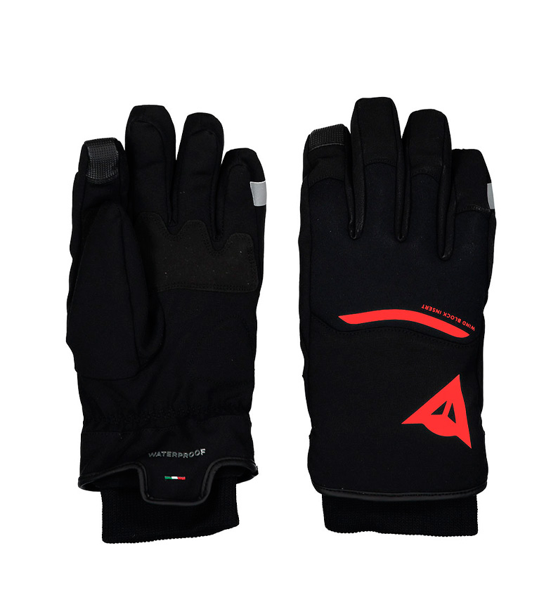Comprar Dainese Guantes Plaza 2 D-Dry Unisex negro, rojo