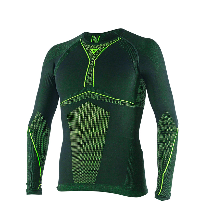Comprar Dainese Thermal tee D-Core Dry Tee LS green