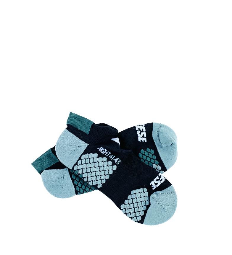 Comprar Dainese Calcetines tobilleros Core Footie Sock negro, turquesa