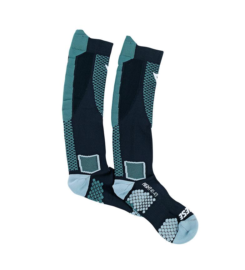 Comprar Dainese Calcetines Core High Sock negro, turquesa