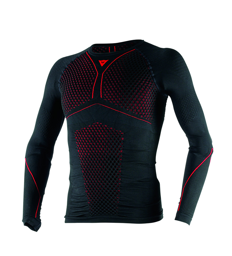 Comprar Dainese Camiseta técnica D-Core Thermo Tee LS negro, rojo