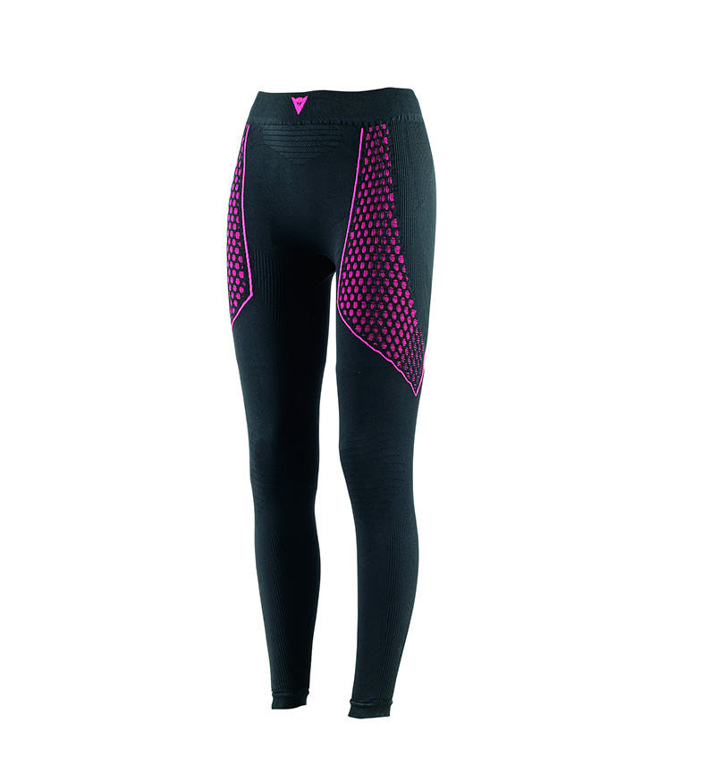 Comprar Dainese D-Core Thermo Pant LL Lady black, fuchsia inner layer trousers