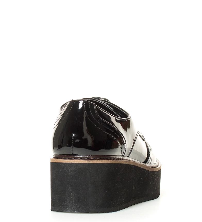 Steve br br 5cm Madden Altura Zapatos plataforma negro Lydia UF6cTqpF