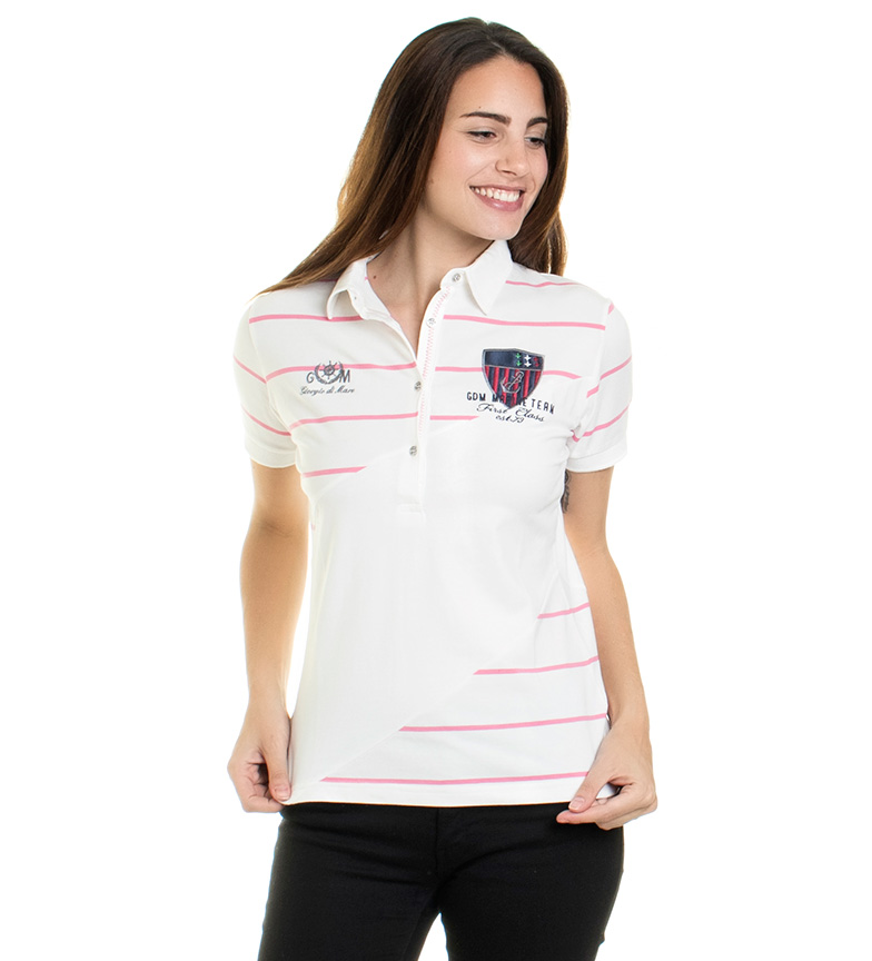 Comprar Giorgio Di Mare Polo Class white, pink