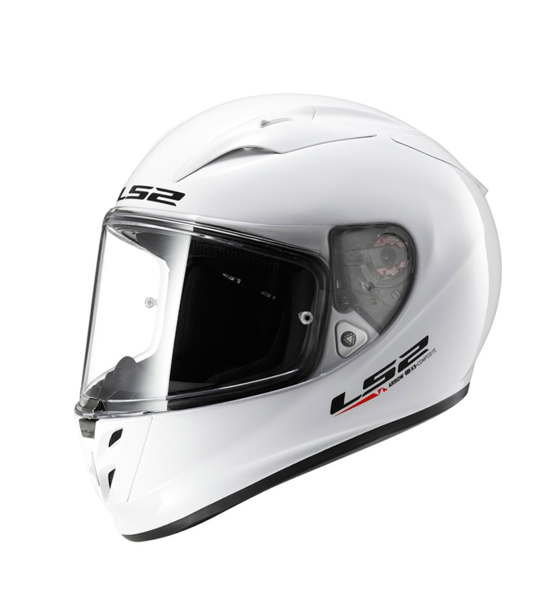 Comprar LS2 Helmets Casco integrale Arrow R Evo FF323 Solid White Pinlock Max Vision incluso