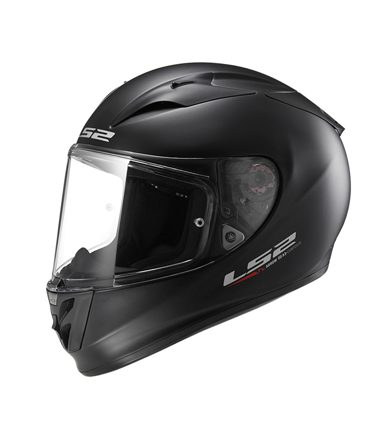 Comprar LS2 Helmets Full helmet Arrow R Evo FF323 Solid Matt Black Pinlock Max Vision included