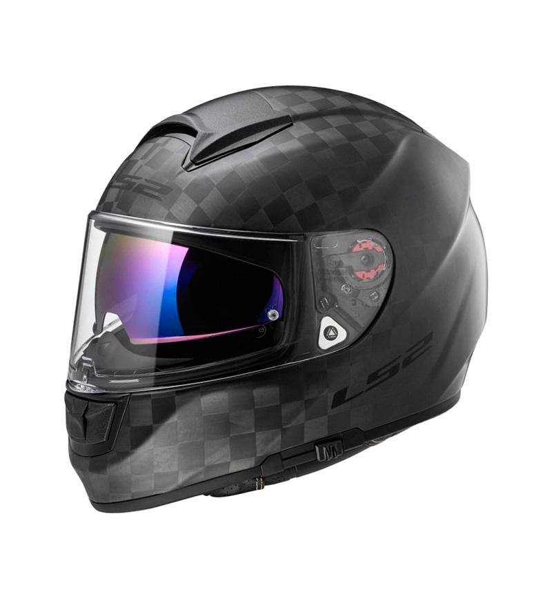 Comprar LS2 Helmets Casco integral Vector C Evo FF397 Solid Matt Carbon Pinlock Max Vision incluido