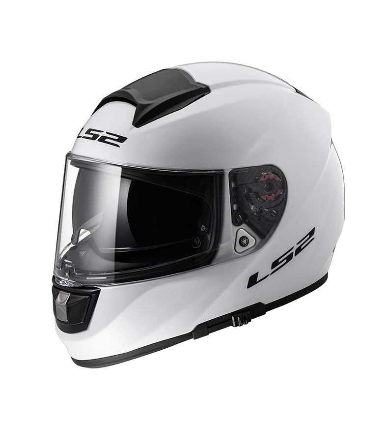 Comprar LS2 Helmets Vector HPFC Evo FF397 Full-face Helmet Solid White Pinlock Max Vision included