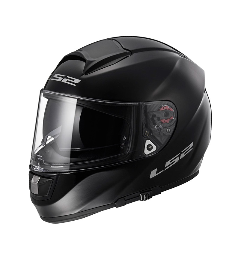 Comprar LS2 Helmets Vector Capacete HPFC Evo FF397 Full-face Preto Sólido Pinlock Max Vision incluído