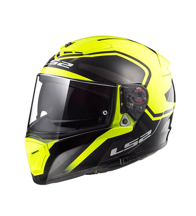 Comprar LS2 Helmets Integral helmet Breaker FF390 Bold Black HV Yellow Pinlock Max Vision included
