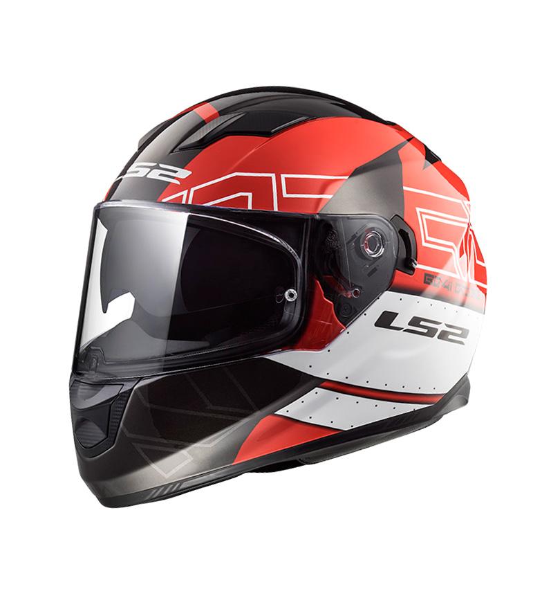 Comprar LS2 Helmets Casco integral Stream Evo FF320 Kub Black Red