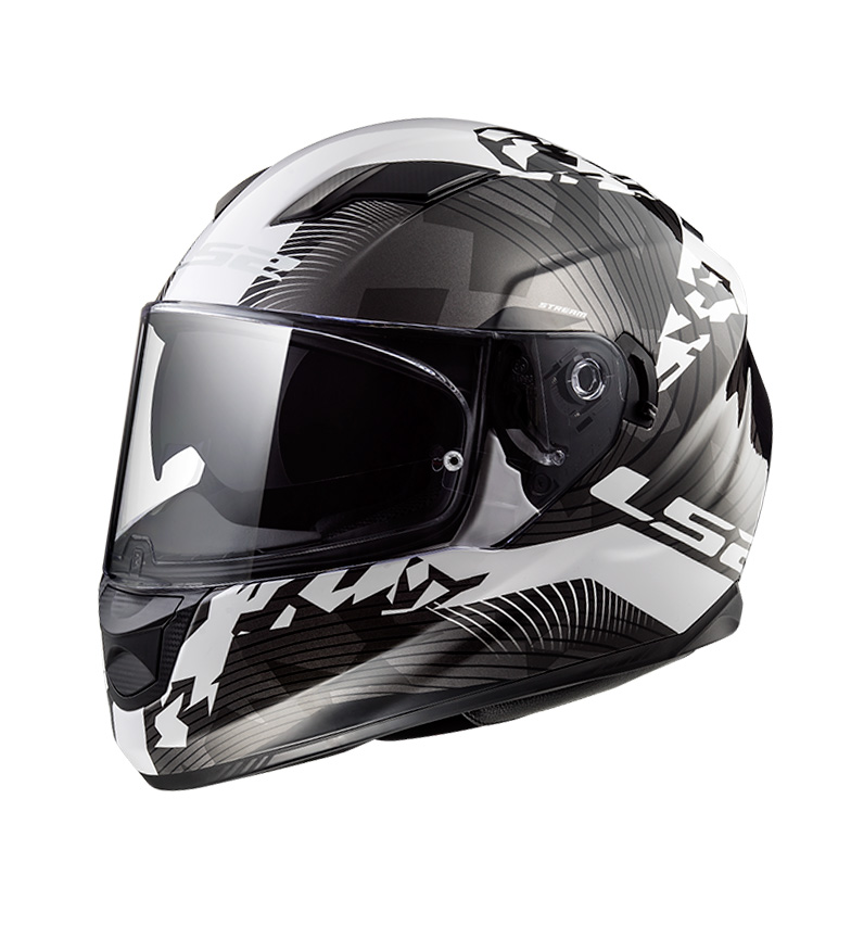 Comprar LS2 Helmets Streaming Evo casco FF320 Hyde Bianco Nero Titanio