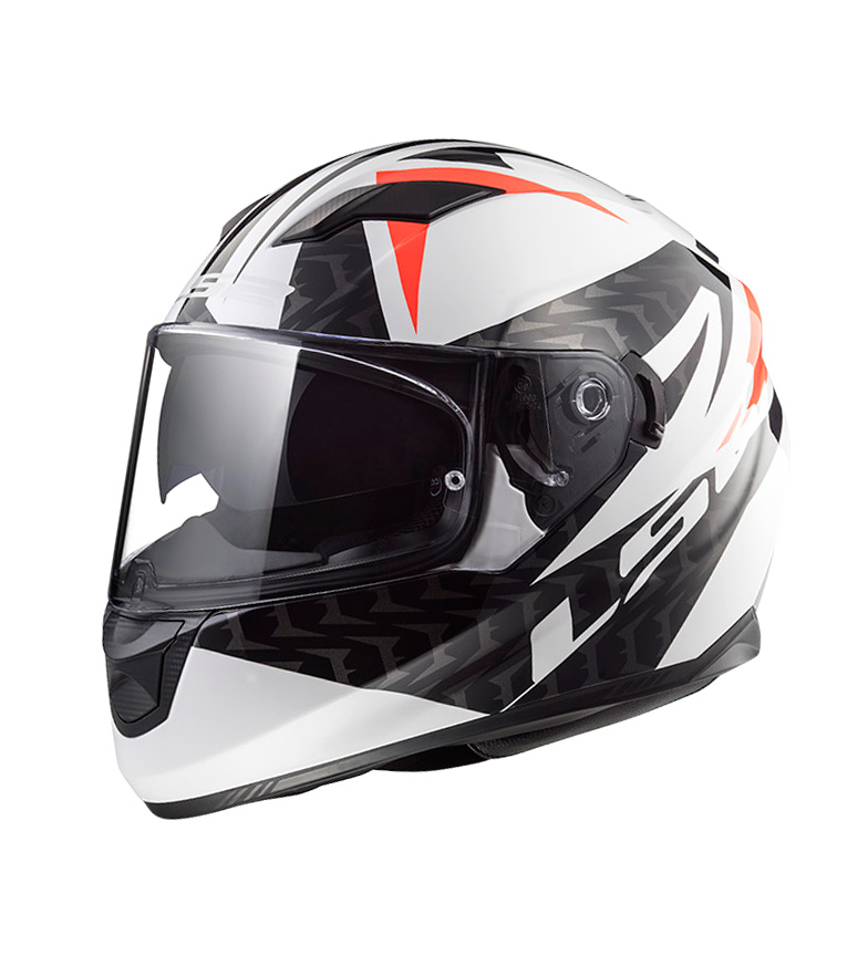 Comprar LS2 Helmets Casco integral Stream Evo FF320 Commander White Black Red
