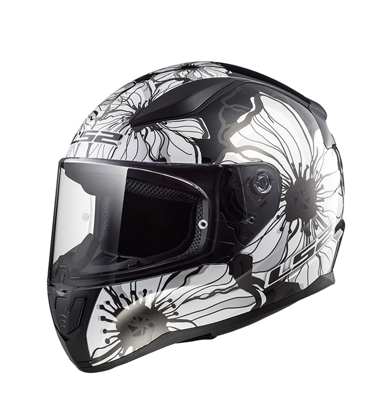 Comprar LS2 Helmets Casco integral Rapid FF353 Poppies Black White