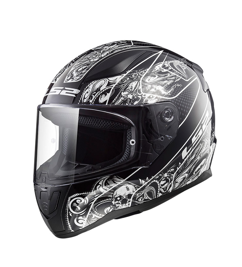 Comprar LS2 Helmets Casco integral Rapid FF353 Crypt Black White
