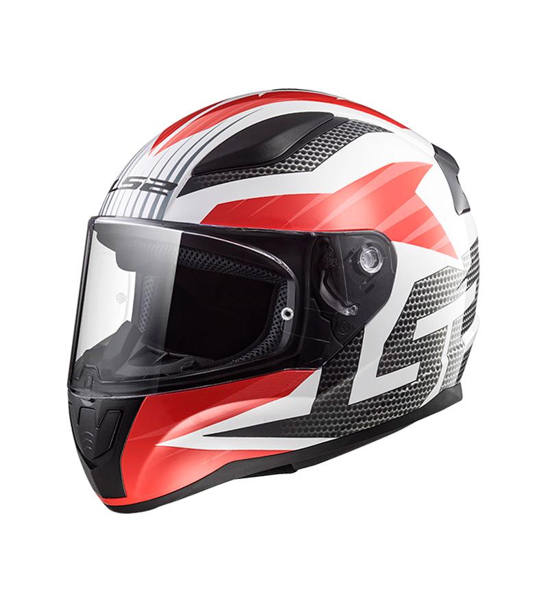 Comprar LS2 Helmets Casco integral Rapid FF353 Grid White Red